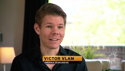 Victor vlam bij RTL Boulevard