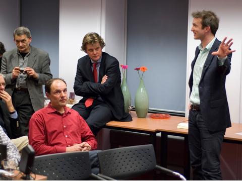 Ook Henk Volbeda denkt: 'Leuk die Duursma, maar van mij mag Obama nu wel beginnen!'
