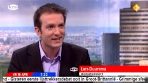 Lars Duursma bij Goedemorgen Nederland
