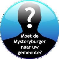 Mysteryburger in uw gemeente?