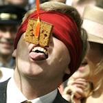Prins Willem-Alexander koekhappen