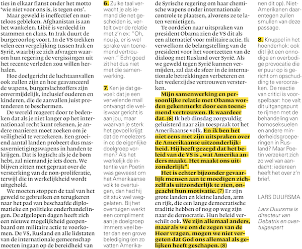 Analyse in nrc.next: Poetin in New York Times
