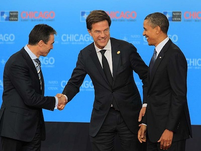 Rasmussen, Rutte & Obama