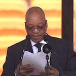 Herdenking Mandela: speech Zuma