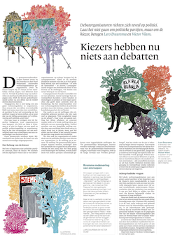 Artikel in nrc.next over verkiezingsdebatten