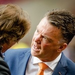 Van Gaal is boos