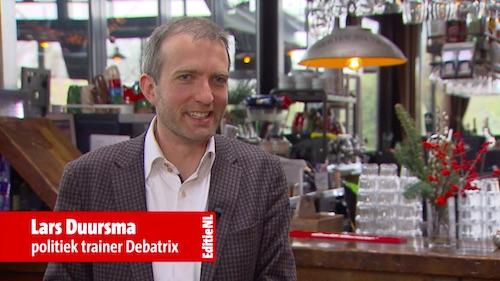 Lars Duursma bij Editie NL