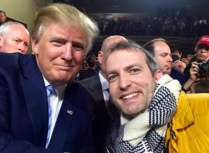 Lars en Donald Trump