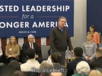 Bush: please clap