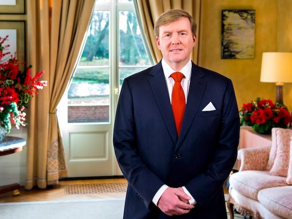 Koning Willem-Alexander bij Kersttoespraak 2015