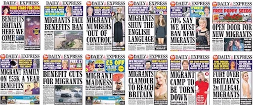 Daily Express covers (selectie)