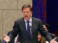 Premier Rutte bij de Algemene Politieke Beschouwingen