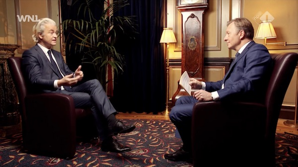 Rick Nieman interviewt Geert Wilders