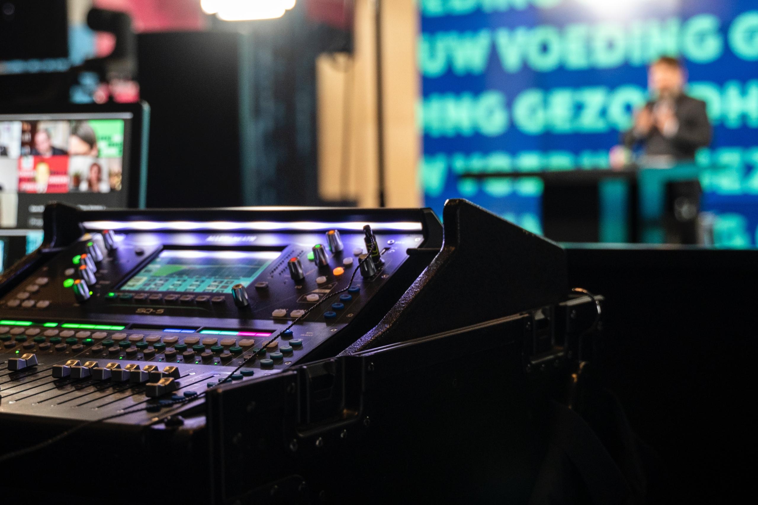 Audiomixer behind the scenes